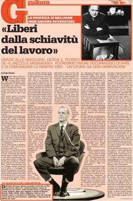 McLuhan su il Garantista