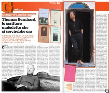 Thomas Bernhard su il Garantista