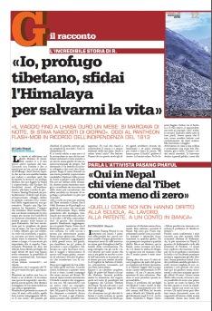 Tibetano profugo pg 12 il garantista