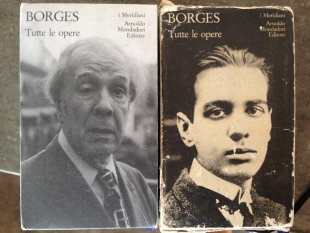 borges vecchio e giovane