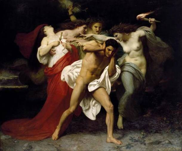 15LRWilliam-AdolpheBouguereau1825-1905-TheRemorseofOrestes1862