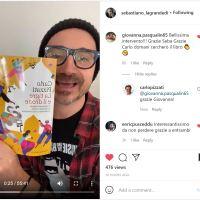 """""""Super-bello"""" Sebastiano Zanolli in diretta Instagram parlando di """"La Tigre e il Drone"""""""